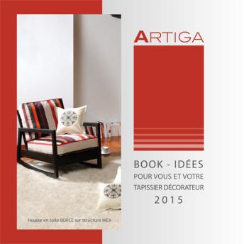 Book tapissier décorateur Artiga