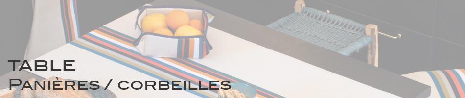 Panières / corbeilles