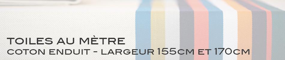 Coton Enduit - largeur 155cm et 170cm