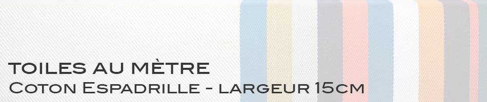 Coton Espadrille - largeur 15cm