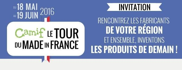 Le tour du Made In France 2016 de CAMIF