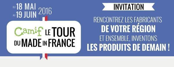 Le tour du Made In France 2016 de CAMIF