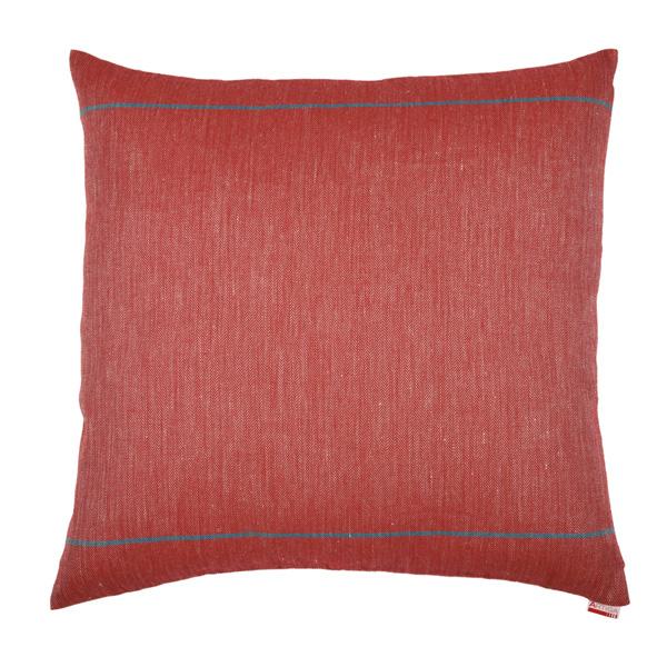 coussin carr 60 x 60 cm elin rouge artiga. Black Bedroom Furniture Sets. Home Design Ideas