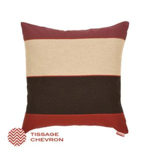 Coussin carré LAAS ROUGE