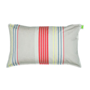 Coussin rectangulaire 70x45 cm - Outdoor Sunbrella ARCTIQUE/PETROLE