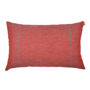 Coussin rectangulaire ELIN ROUGE