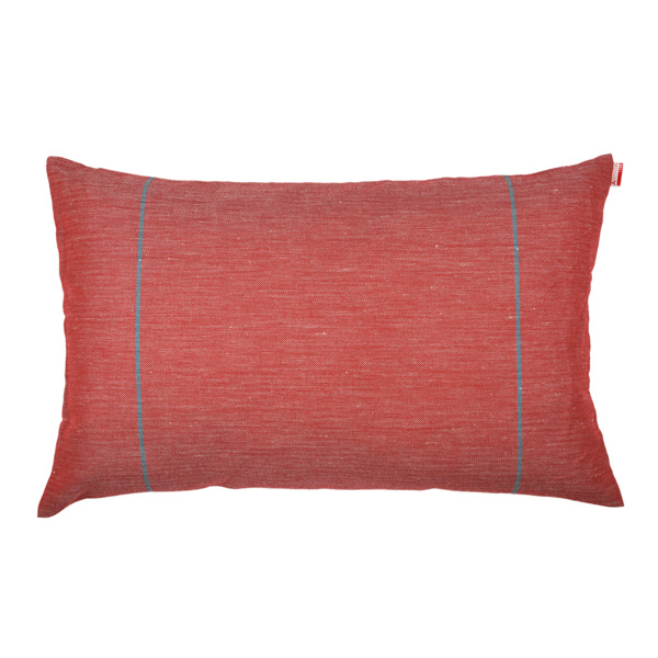 coussin rectangulaire elin rouge artiga. Black Bedroom Furniture Sets. Home Design Ideas