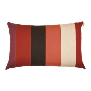 Coussin rectangulaire LAAS ROUGE