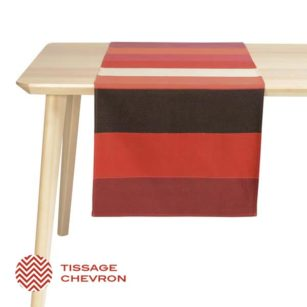 Jeté de table LAAS ROUGE