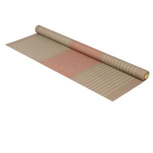 Métrage toile coton 160 cm de large SAUVELADE MASTIC