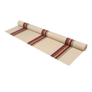 Métrage toile coton - lin en 170 cm CASSIS