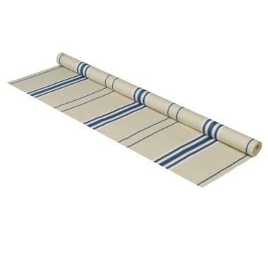 Métrage toile coton - lin en 170 cm CORDA METIS PETR/BLA