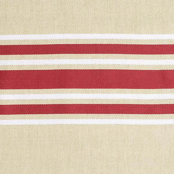 m trage toile enduite en 165 cm corda metis bordeaux blanc artiga. Black Bedroom Furniture Sets. Home Design Ideas