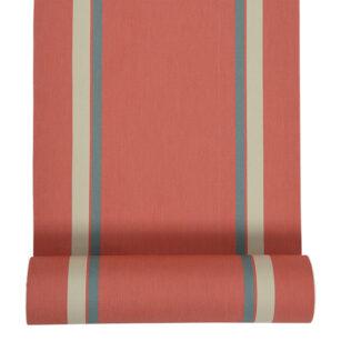Métrage toile transat coton 43 cm AURICE BRIQUE