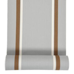 Métrage toile transat coton 43 cm AURICE GRIS
