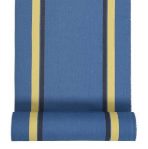 Métrage toile transat coton 43 cm AURICE PETROLE