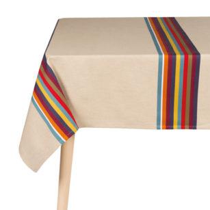 Nappe coton lin 165m x 1x65m MAULEON CASSIS