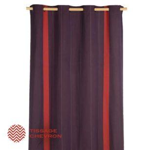 rideaux oeillets pr ts poser artiga d coration de la. Black Bedroom Furniture Sets. Home Design Ideas