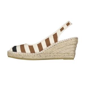 Sandale compensée LACQUY VISON