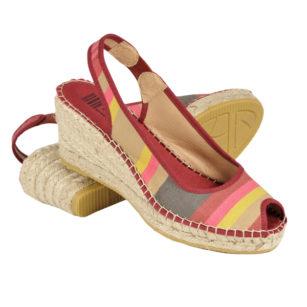 Sandales compensées en corde AINHOA