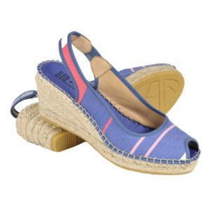 Sandales compensées en corde BEOST