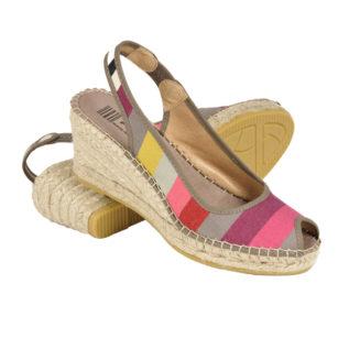 Sandales compensées en corde LARRAU