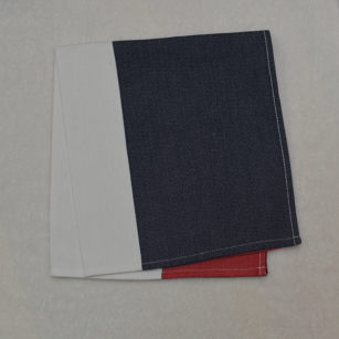 Serviette de table BLEU/BLANC/ROUGE