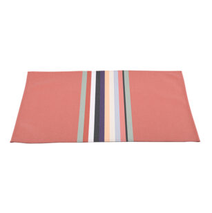 Set de table enduit 48x40cm MAULEON CORAIL