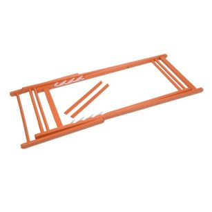 Structure peinte pour chilienne ORANGE