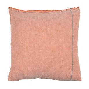 Taie oreiller carré 65 x 65 cm MANDARINE
