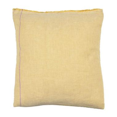 Taie oreiller carré 65 x 65 cm MIEL