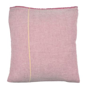 Taie oreiller carré 65 x 65 cm ROSE