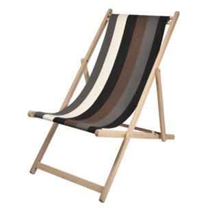 Toile à transat - prête à poser - pour chilienne/chaise longue ARGAGNON