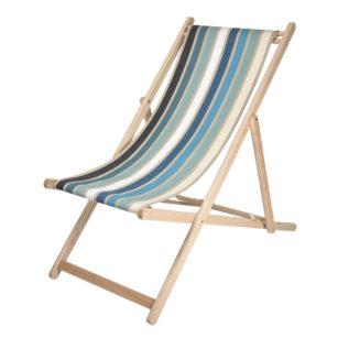 Toile à transat - prête à poser - pour chilienne/chaise longue GARLIN BLEU