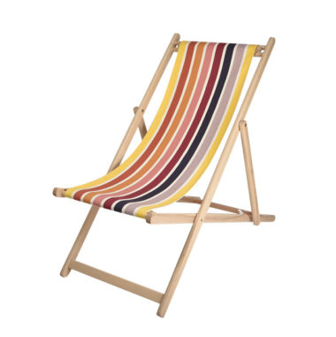 Toile à transat - prête à poser - pour chilienne/chaise longue GARLIN OCRE