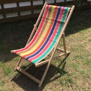 Toile à transat - prête à poser - pour chilienne/chaise longue ISSOR