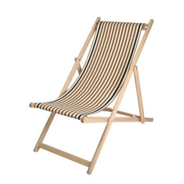 Toile à transat - prête à poser - pour chilienne/chaise longue LACQUY VISON