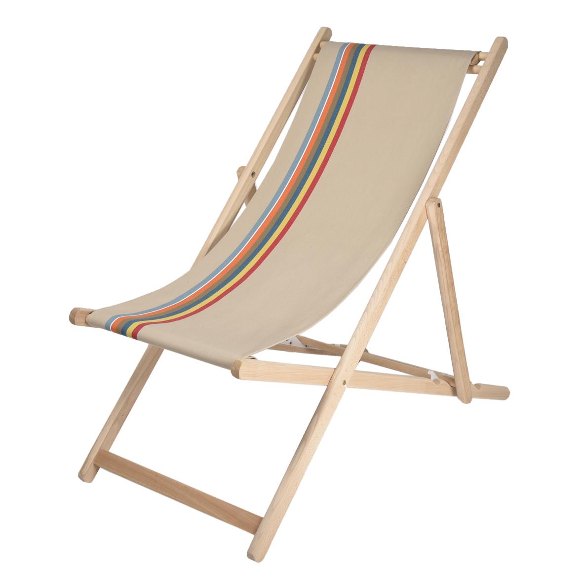Toile transat pr te poser pour chilienne chaise for Chaise longue toile