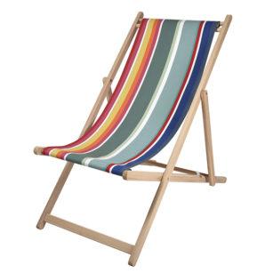 Toile à transat - prête à poser - pour chilienne/chaise longue POUILLON