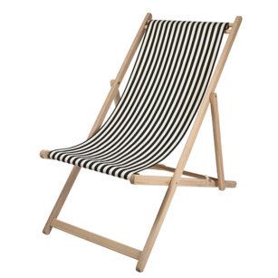 Toile à transat - prête à poser - pour chilienne/chaise longue SAUVELADE ECRU 2
