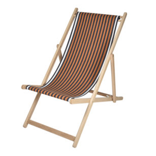 Toile à transat - prête à poser - pour chilienne/chaise longue SAUVELADE MARINE