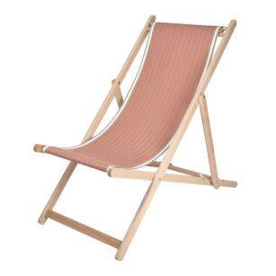 Toile à transat - prête à poser - pour chilienne/chaise longue SAUVELADE MASTIC