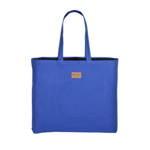 TOTE BAG 39X42X10 CM BLEU ROYAL